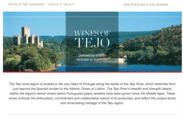Wines of Tejo: Portugal's Historic Wine Region Issue 2.2