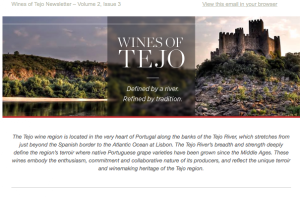 Wines of Tejo: Portugal's Historic Wine Region Issue 2.3